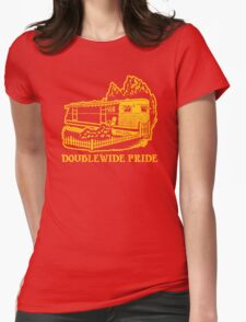 Doublewide Pride Womens Fitted T-Shirt