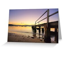 Tranquility - Sydney Beaches - The HDR Series Greeting Card