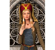 Medieval Lady  Photographic Print