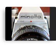 Macro Minolta Metal Print