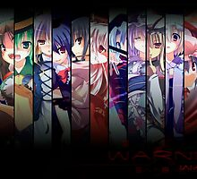 Touhou Multi-Chars-Color 2 by Revoltec17