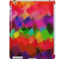 Colorful Paint Splatter Brush Stroke iPad Case/Skin