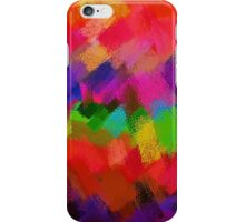 Colorful Paint Splatter Brush Stroke iPhone Case/Skin