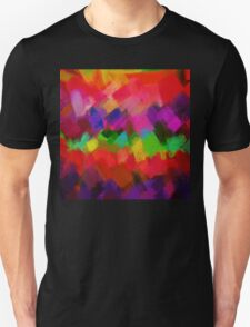 Colorful Paint Splatter Brush Stroke T-Shirt