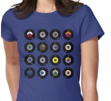 Records Womens Fitted T-Shirt