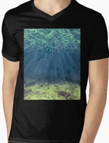 Underwater Mens V-Neck T-Shirt