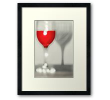 One too many ......... Framed Print
