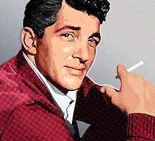 Dean Martin - The King of Cool by Everett Day