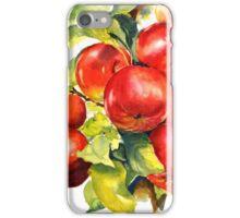Red abundance iPhone Case/Skin