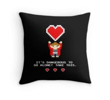 Take This! Throw Pillow