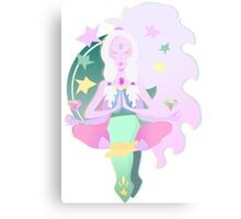 Yoga Opal Canvas Print