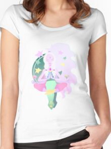 Yoga Opal Women's Fitted Scoop T-Shirt