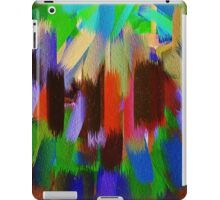 Vivid Color Paint Splatter Brush Stroke #2 iPad Case/Skin