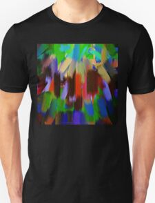Vivid Color Paint Splatter Brush Stroke #2 T-Shirt