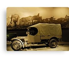 WW1 Army Truck Canvas Print