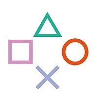 PlayStation Control Buttons by naomibridges13