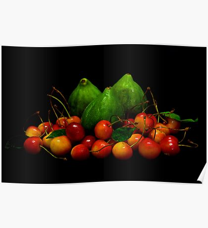 Figs & Cherries Poster