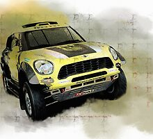 Off road MINI Countryman by Lightrace