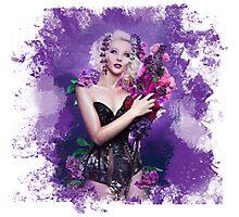 Floral Depiction  Photographic Print