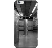 Stand Clear of the Lines! iPhone Case/Skin