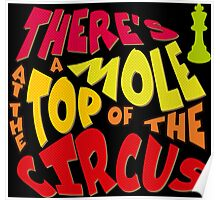 A mole at the top of the circus Poster