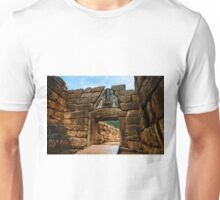 The gate of Mycene Unisex T-Shirt