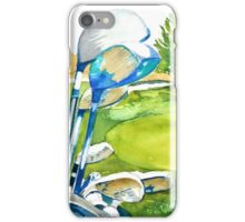 Golf series - Great anticipation iPhone Case/Skin