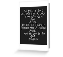 American Horror Story Quote Greeting Card