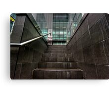 Workplace Steps - Waymouth Street HDR Canvas Print