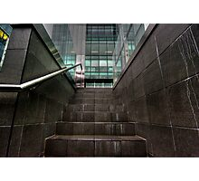 Workplace Steps - Waymouth Street HDR Photographic Print