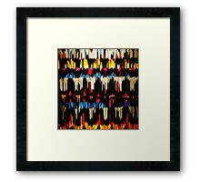 Paint Color Splatter Brush Stroke Framed Print