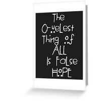 American Horror Story Asylum Quote  Greeting Card