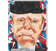 Portrait of Winston Churchill iPad Case/Skin
