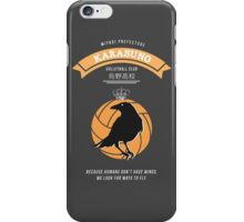Karasuno Crest (light) iPhone Case/Skin