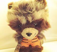 Rocket Raccoon by FendekNaughton