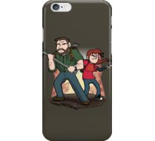 Post-Apocalyptic Dynamic Duo! iPhone Case/Skin