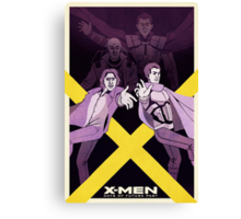 XMen: Days of Future Past Movie Poster Canvas Print