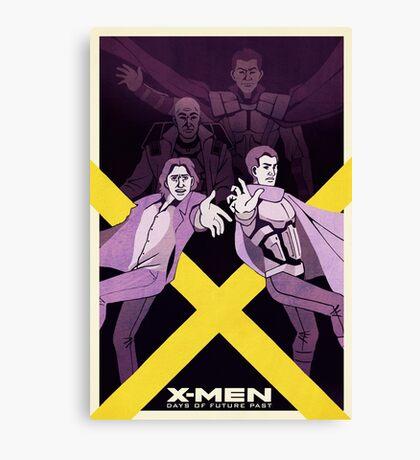 XMen: Days of Future Past Movie Poster Canvas Print