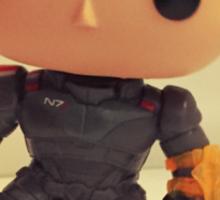 Commander Shepard Sticker