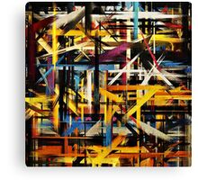 Paint Color Splatter Brush Stroke #2 Canvas Print