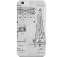 Oil Rig Patent iPhone Case/Skin