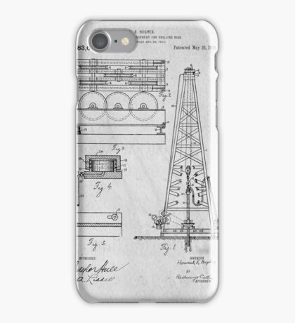 Oil Rig Patent iPhone Case/Skin