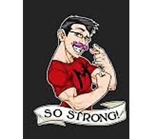 Markiplier strong Photographic Print