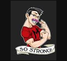 Markiplier strong Unisex T-Shirt