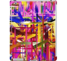 Abstract Paint Color Splatter Brush Stroke iPad Case/Skin