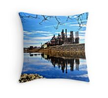 Rusted Reflection Throw Pillow