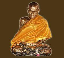 Golden Buddha statue by Rickmans
