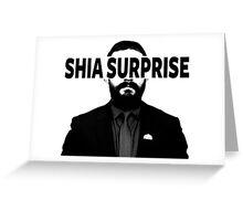 Shia Surprise Greeting Card