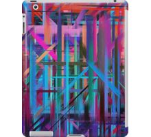 Abstract Paint Color Splatter Brush Stroke #3 iPad Case/Skin