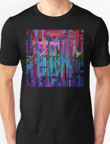 Abstract Paint Color Splatter Brush Stroke #3 T-Shirt